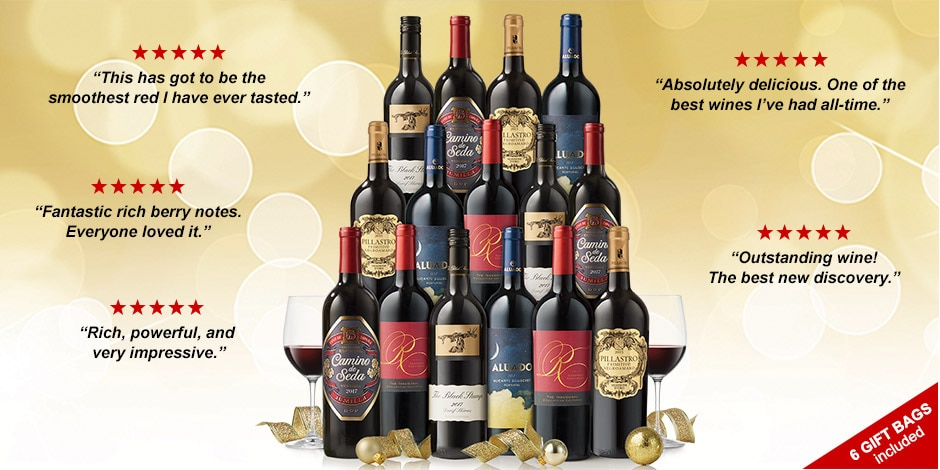 15 Holiday All-Star REDS – JUST $11.99 a bottle